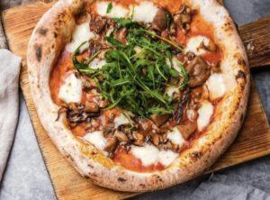 Пицца 4 гриба